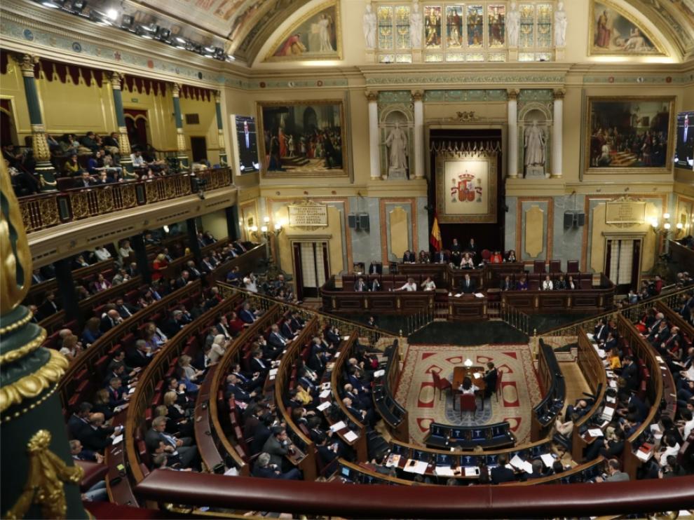 El Congreso de los Diputados.
