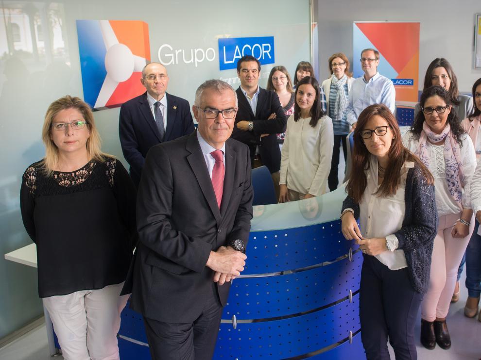 Equipo de Grupo Lacor.