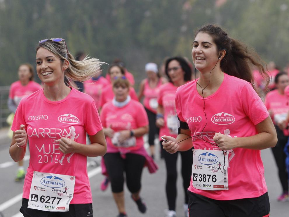 Una imagen de la carrera de la mujer.