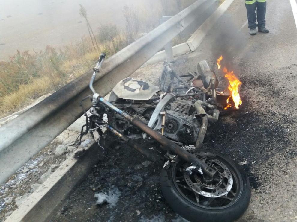 Accidente de tráfico en el Burgo.