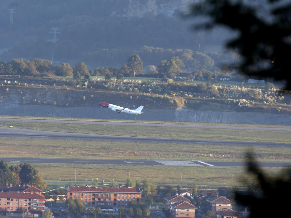 Aeropuerto de Bilbao.