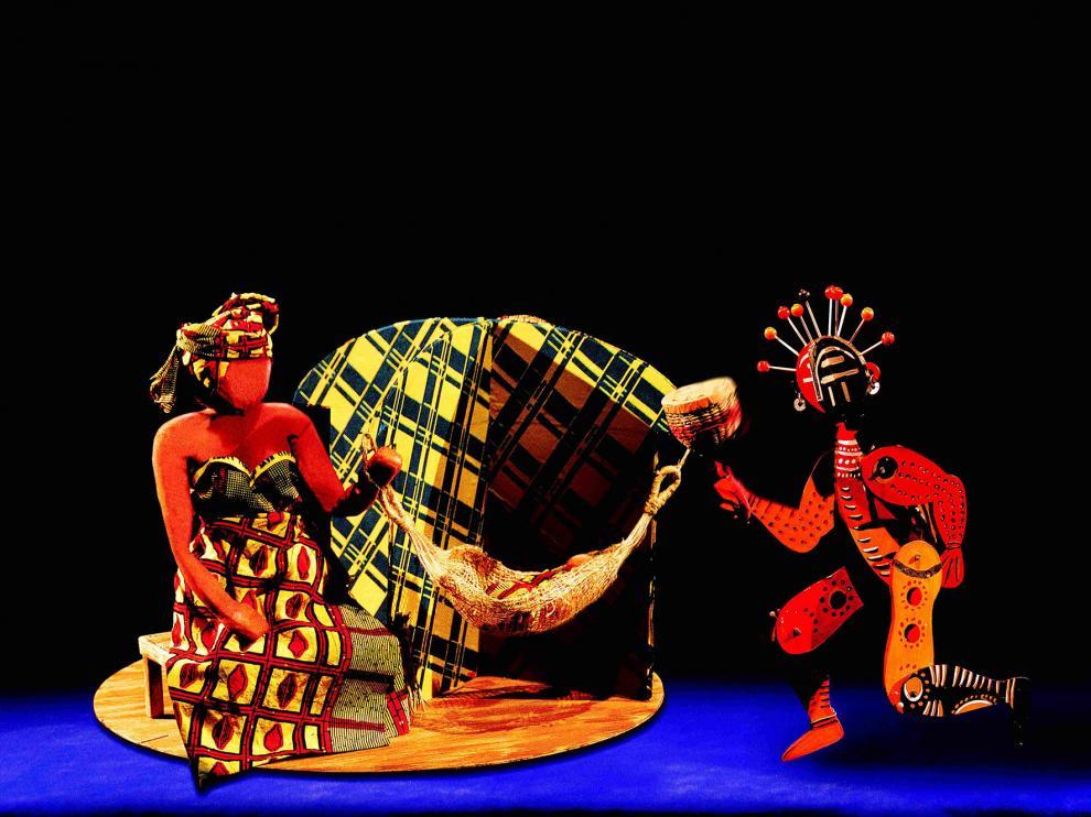 Imagen del espectáculo infantil 'El niño que soñaba'.