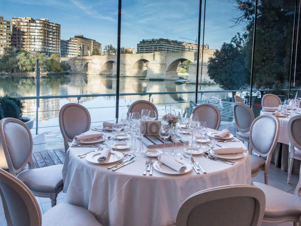 Tres Mares, el nuevo restaurante naútico de Zaragoza.