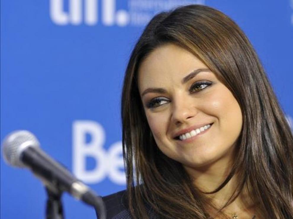 Mila Kunis en una imagen de archivo.