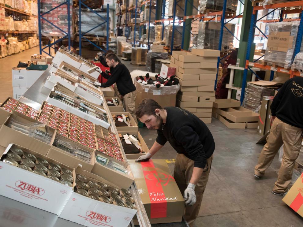 Hoy la elaboración de lotes navideños sigue siendo la principal, aunque no única, actividad de la empresa, que ha entrado con fuerza en el comercio exterior.