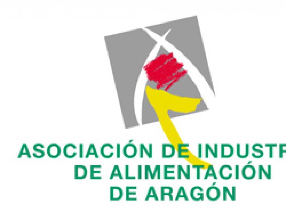 Logo de la Asociación de Industrias de Alimentación de Aragón.