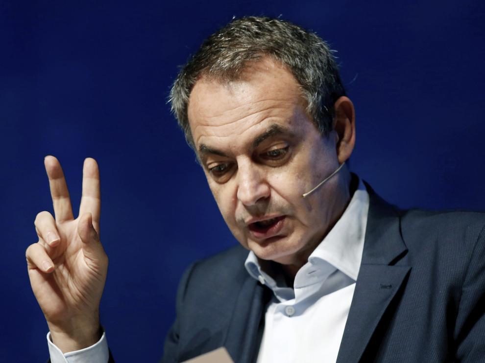 Zapatero, en una imagen de archivo
