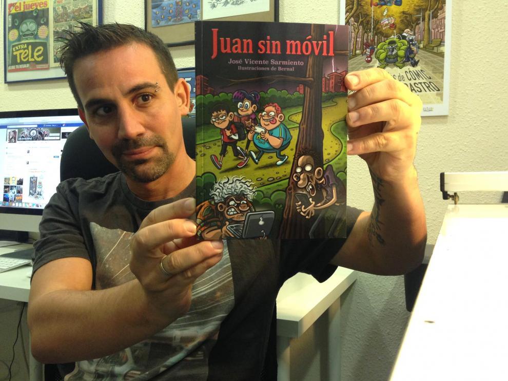 El dibujante zaragozano José Antonio Bernal