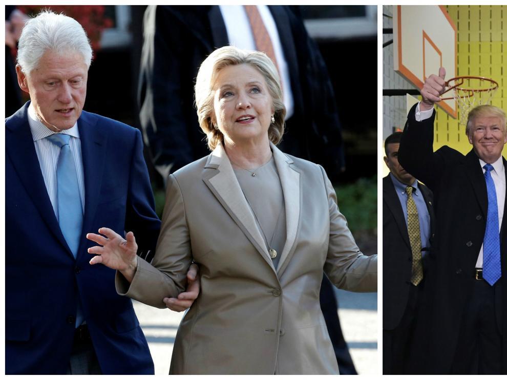 Hillary y Trump votan en Nueva York