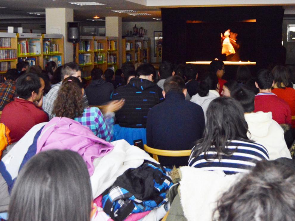Representación de 'El sueño de Cleta' en la Biblioteca Pública de Soria