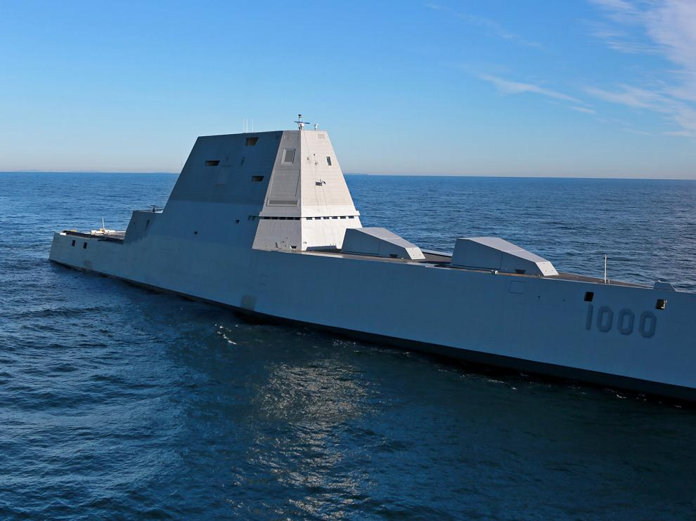 El USS Zumwalt