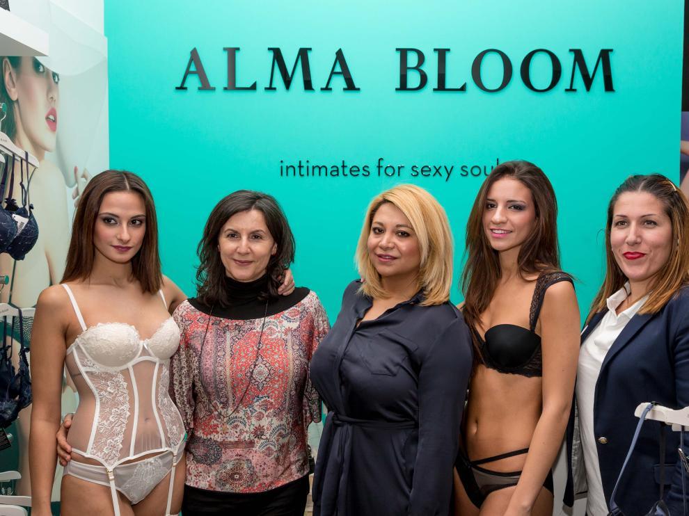 El desfile de lencería de Alma Bloom