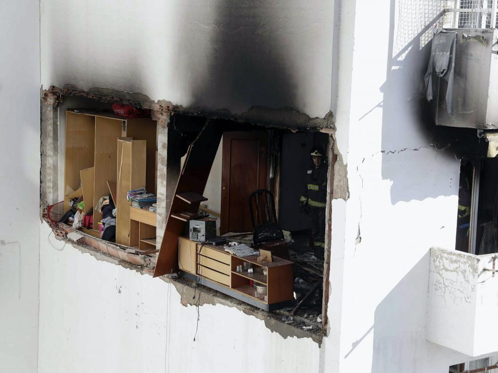 Fuerte explosión de gas en Tenor Fleta