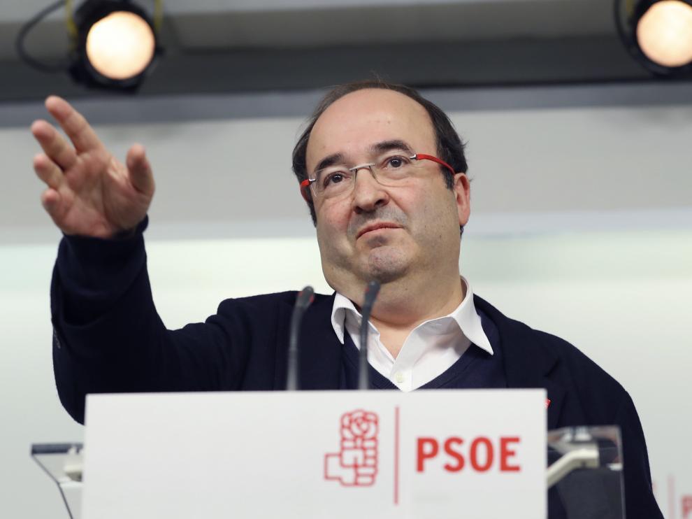 Miquel Iceta, líder del PSC