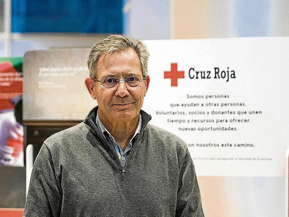 Javier Senent, presidente de Cruz Roja en España.