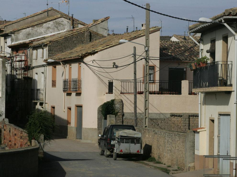 El municipio oscense de Loscorrales.