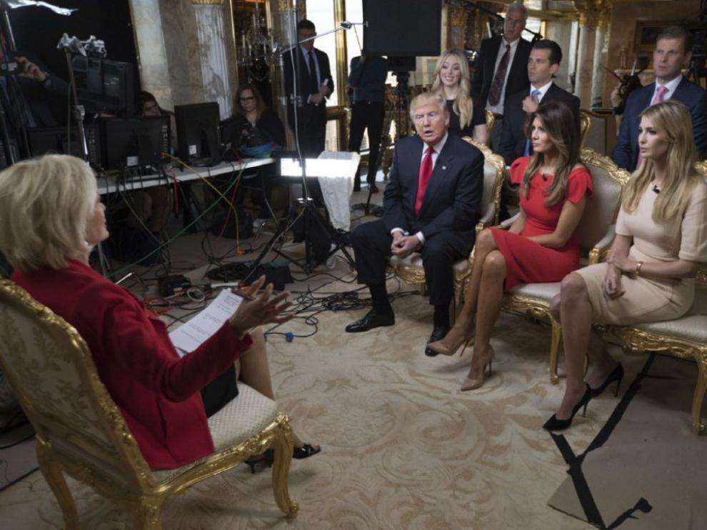 Entrevista a Trump en la CBS