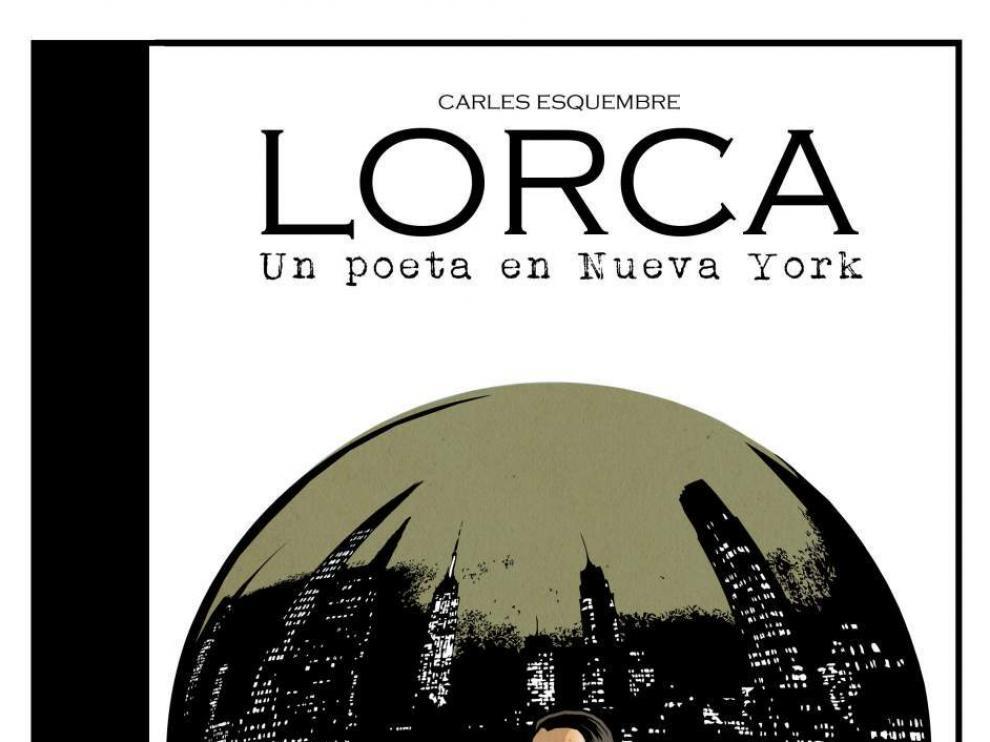 Portada del cómic Lorca. Un poeta en Nueva York.