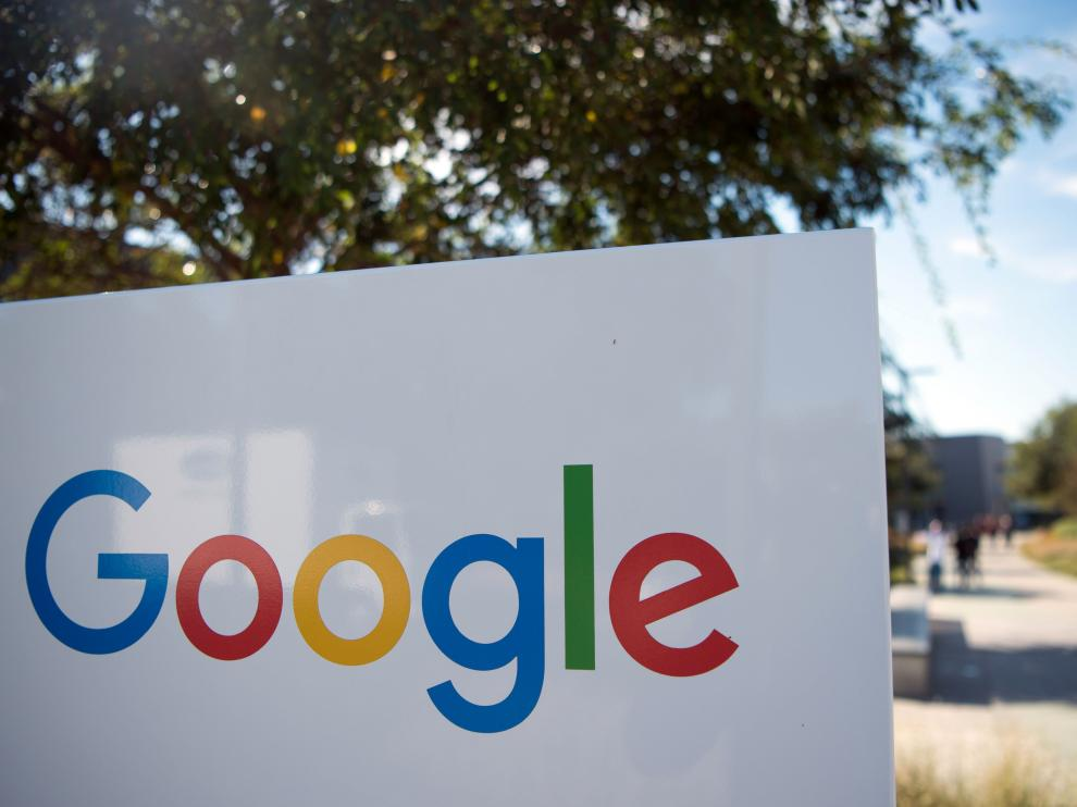Las oficinas de Google en California.