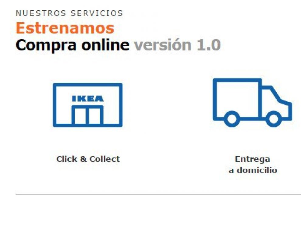 Nuevo servicio de compra online en Ikea Zaragoza