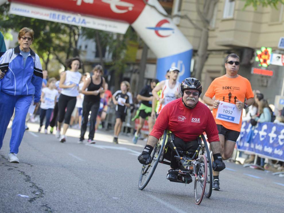 La carrera por la integración es otro de los eventos deportivos solidarios que se celebran en Aragón.