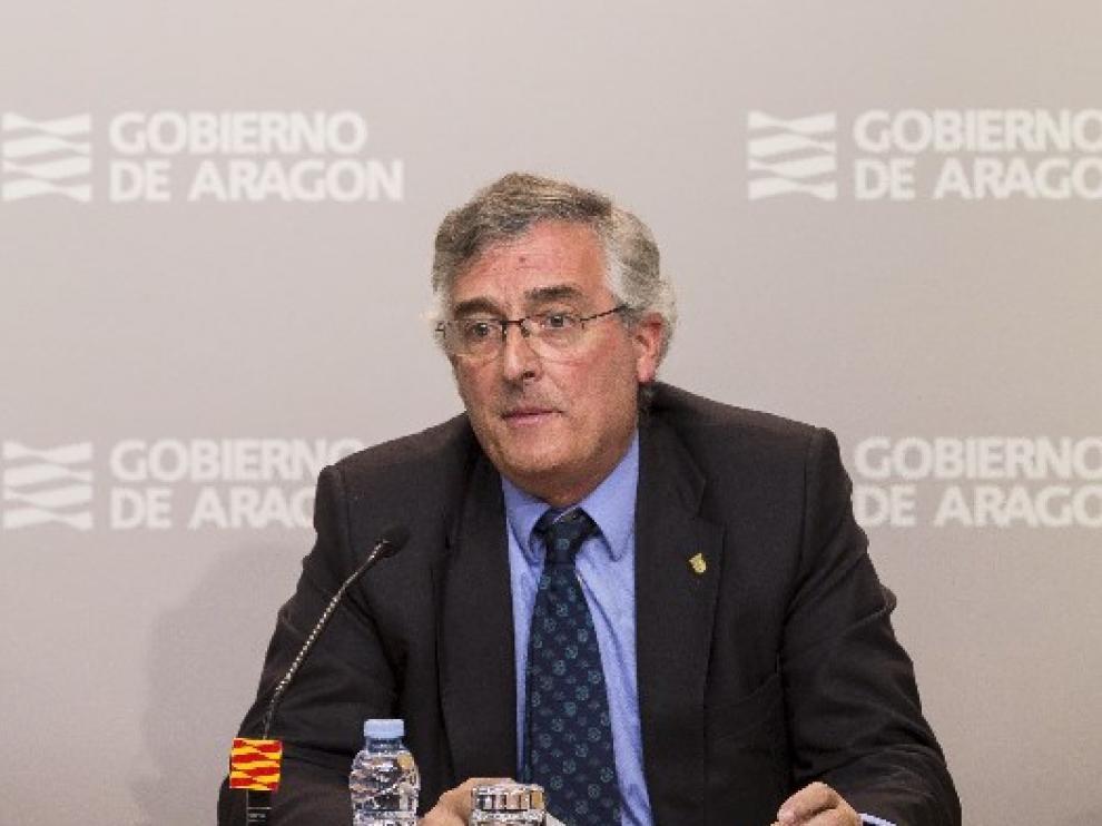 El consejero Joaquín Olona en una imagen de archivo.