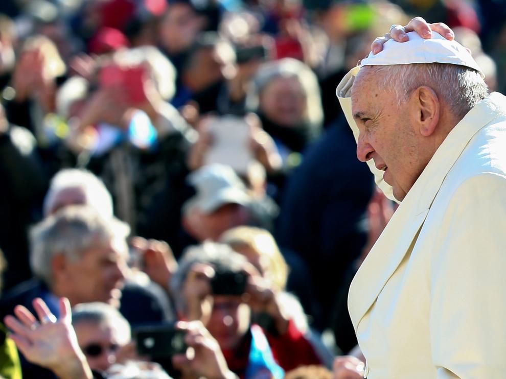 El Papa, en el Vaticano