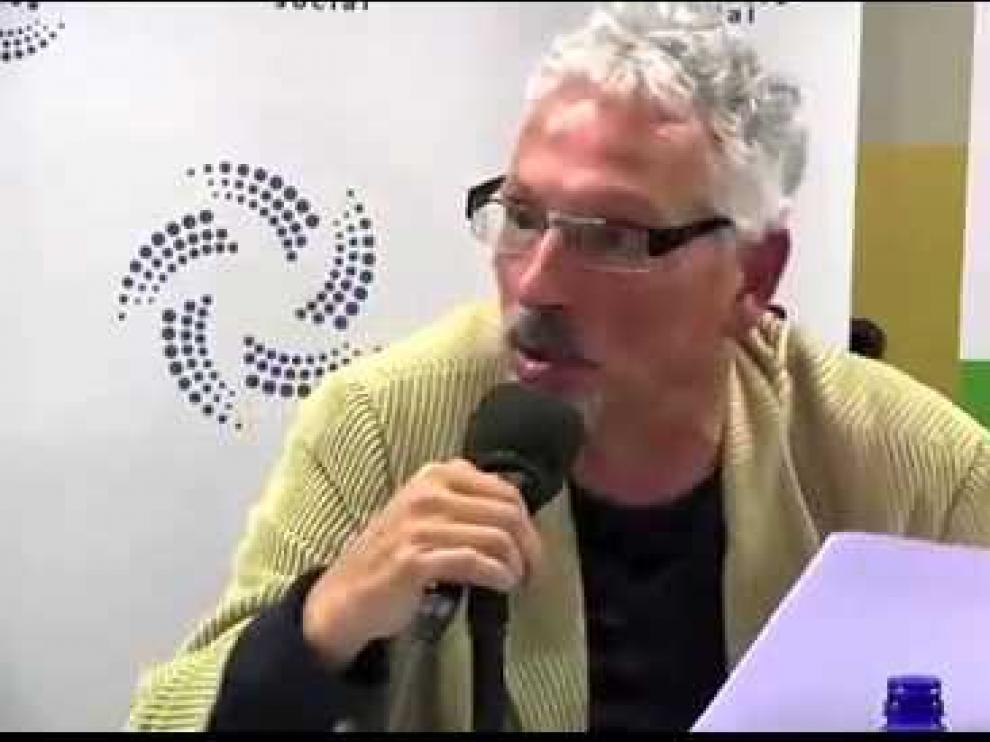 Santiago Vidal en un vídeo de archivo