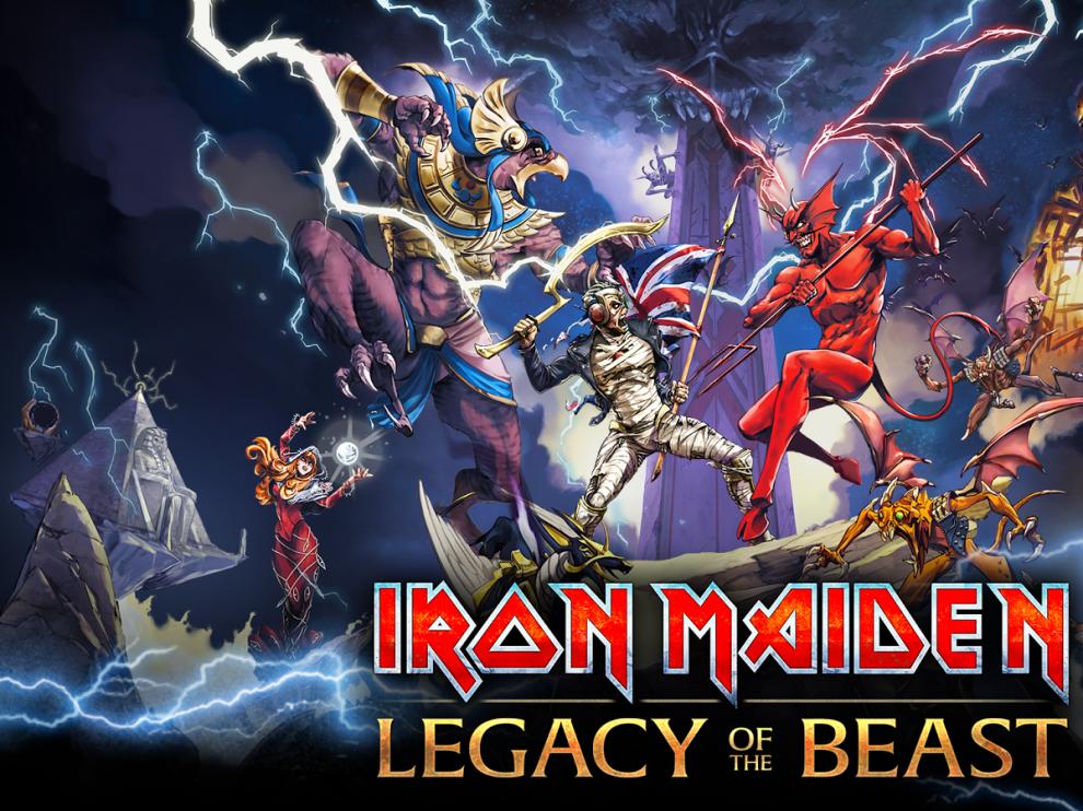Iron Maiden, icono del heavy, y ahora en camisetas de las grandes cadenas.