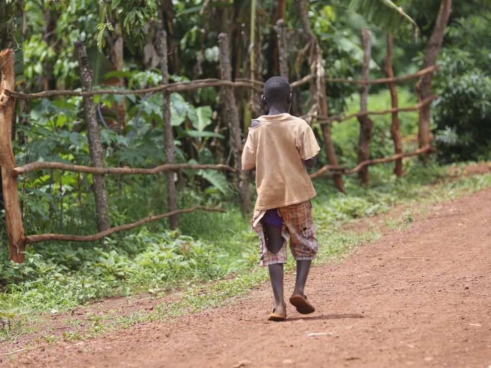 La pobreza siempre afecta a los más pequeños.