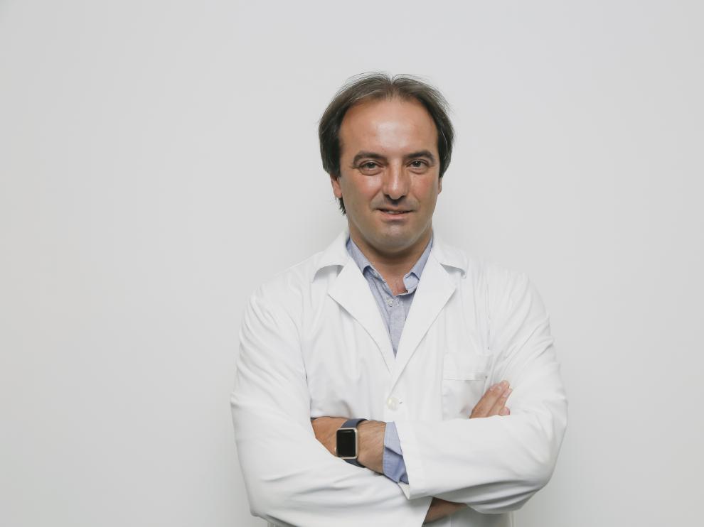 El doctor Antonio Urries, de Quirónsalud Zaragoza.