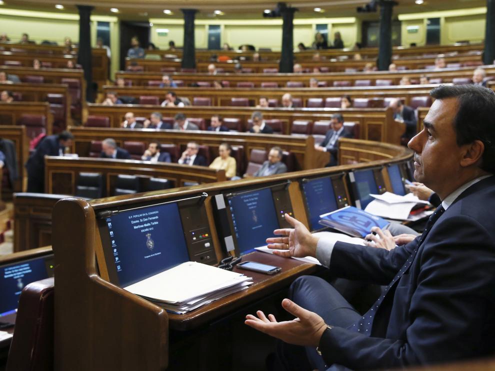 Una imagen del pleno del Congreso de los Diputados