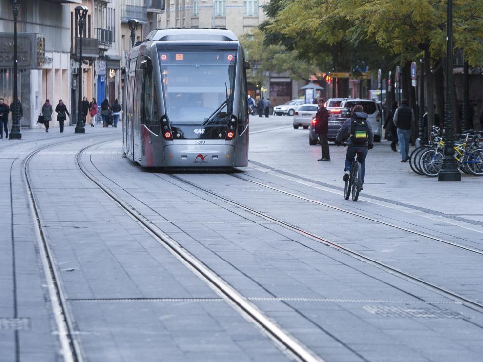 Tranvía Zaragoza.