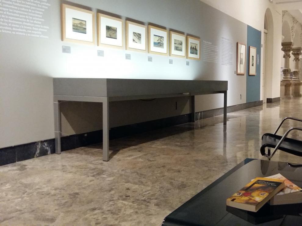 Libros liberados en el Museo de Zaragoza