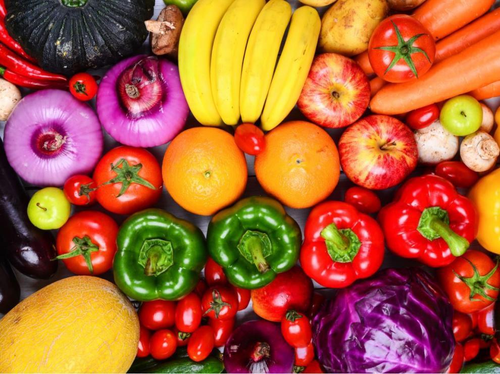Las frutas y verduras son los elementos fundamentales de cualquier dieta saludable.