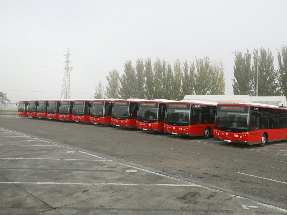 Auzsa incorpora diez nuevos buses que comenzarán a circular el lunes