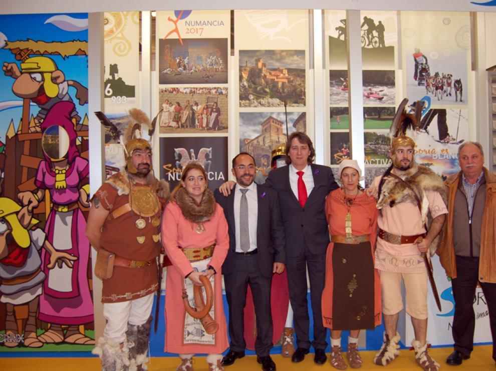 'Numancia 2017' se ha presentado este viernes en la feria internacional de turismo de interior, Intur