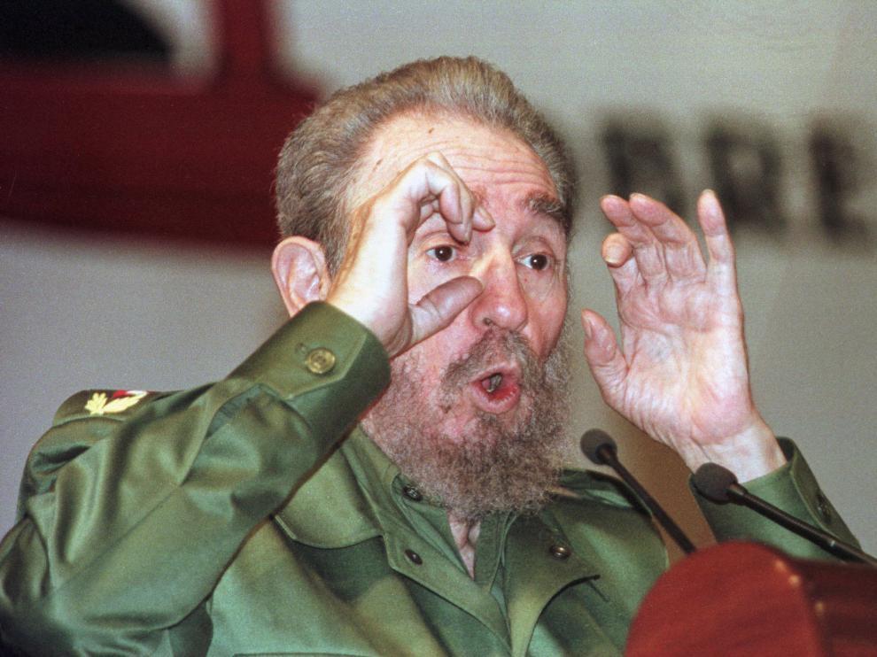 Imagen de archivo de Fidel Castro.