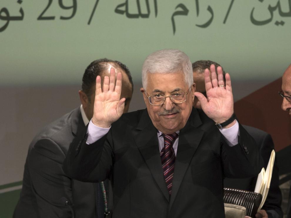 Mahmud Abás, presidente de Fatah.