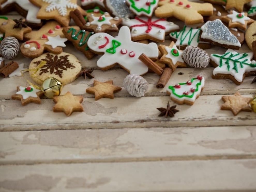 Receta de galletas de jengibre para recibir la Navidad.