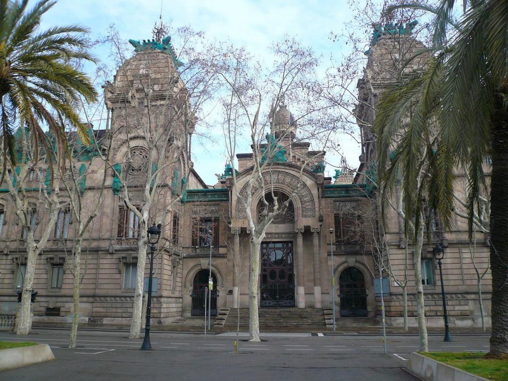 Sede de la Audiencia Provincial de Barcelona.