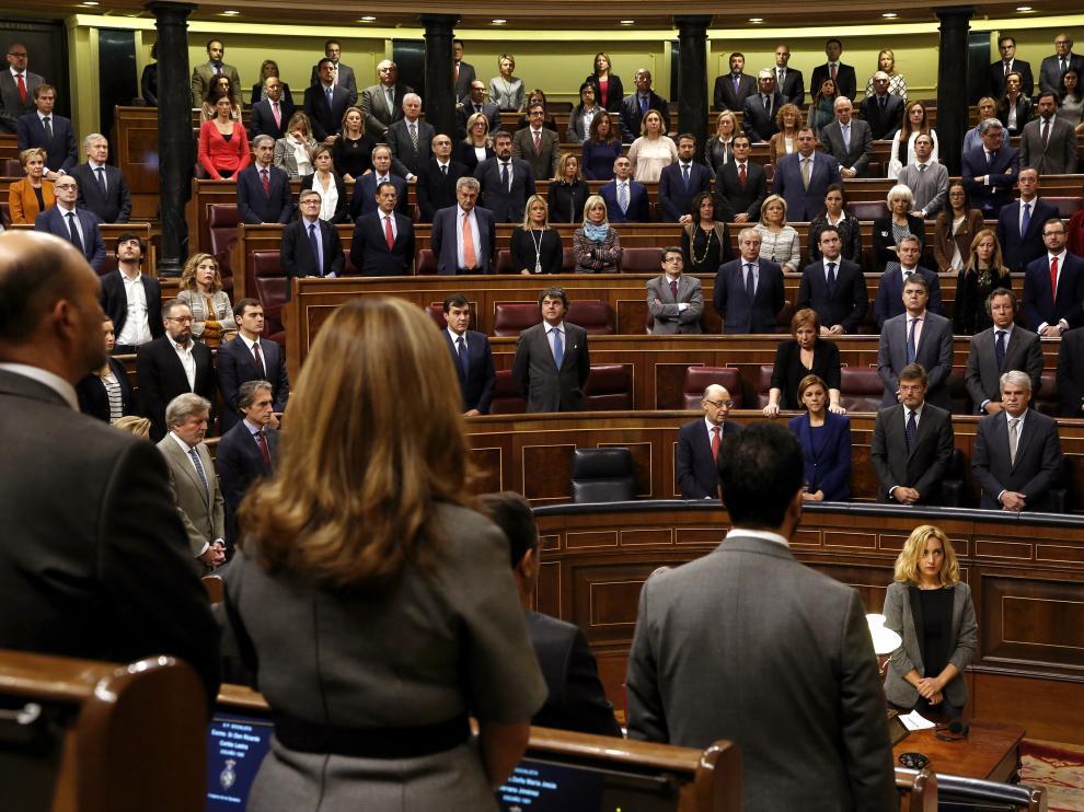 El Congreso de los Diputados celebrará el martes el 38 aniversario de la Constitución.