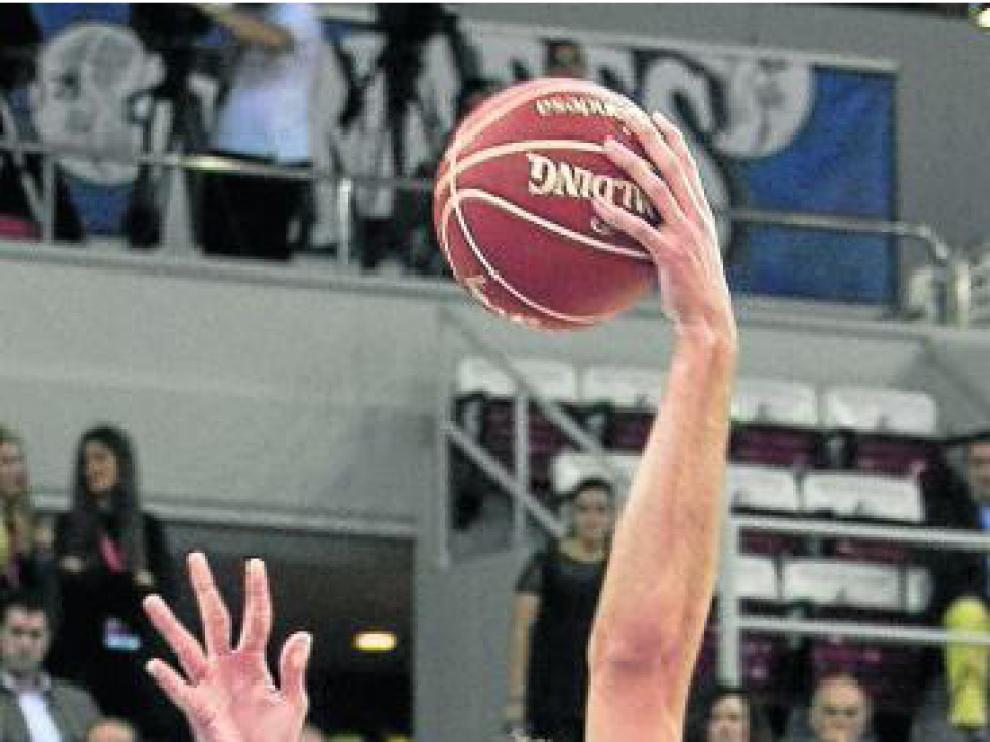 Kraljevic, en el partido ante el UCAM Murcia.