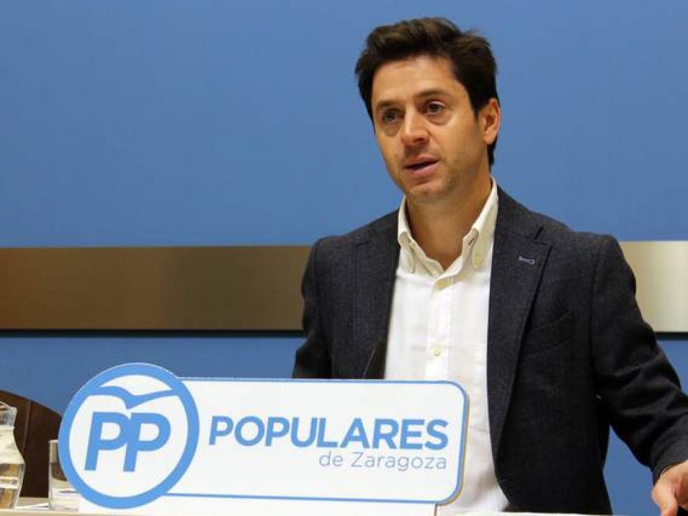 Imagen de archivo del concejal del PP Sebastián Contín.