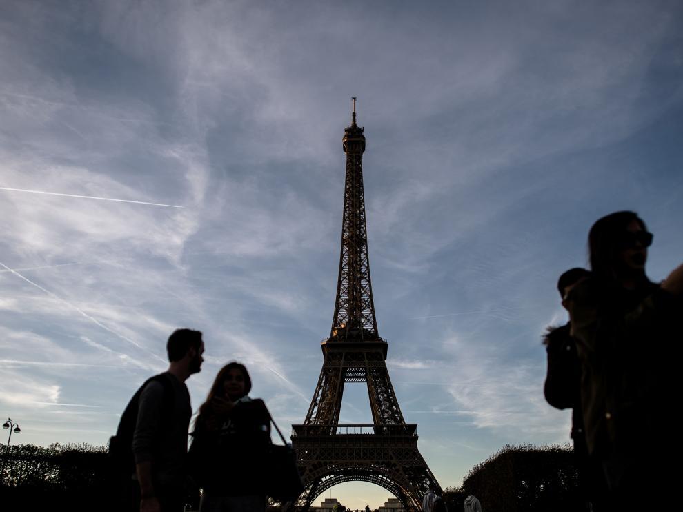 La torre Eiffel, cerrada por tercer día consecutivo a causa de una huelga.