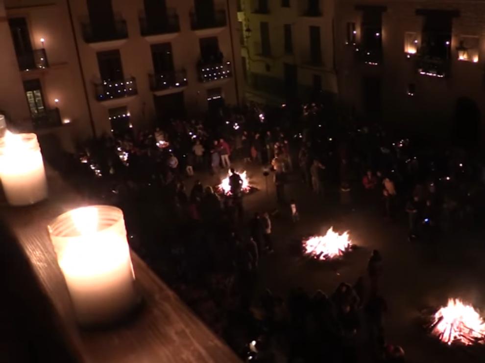 """Imagen del vídeo """"Siente la luz de Rubielos de Mora""""."""