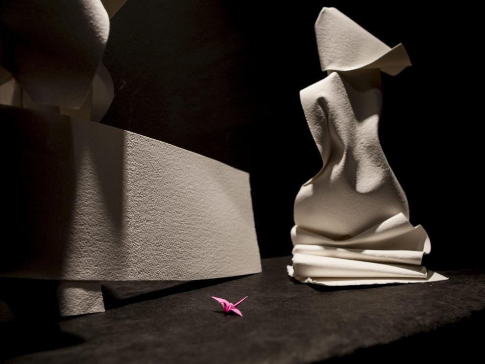 Las 'Mujeres de papel' llegan al Museo Origami de Zaragoza