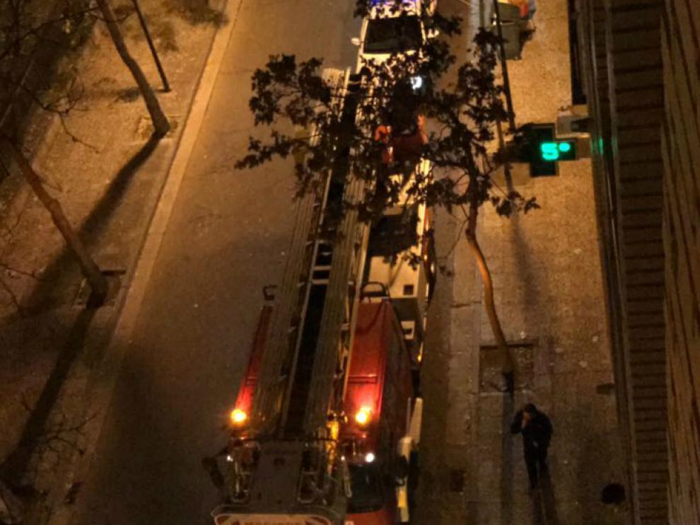 Los okupas provocaron un incendio en el edificio el pasado fin de semana.