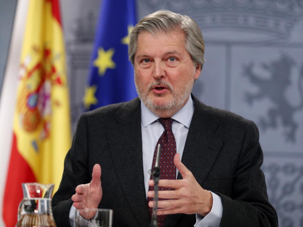 El ministro de Educación, Íñigo Méndez de Vigo, en una imagen de archivo.