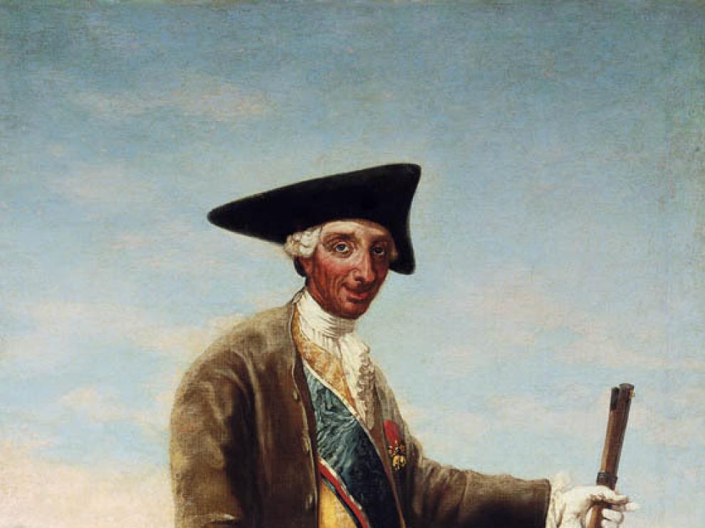 'Retrato de Carlos III, cazador', de Francisco de Goya.